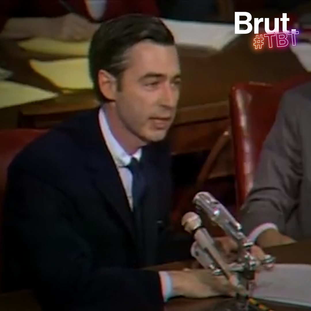 Tbt Fred Rogers Speaks Before Congress Brut
