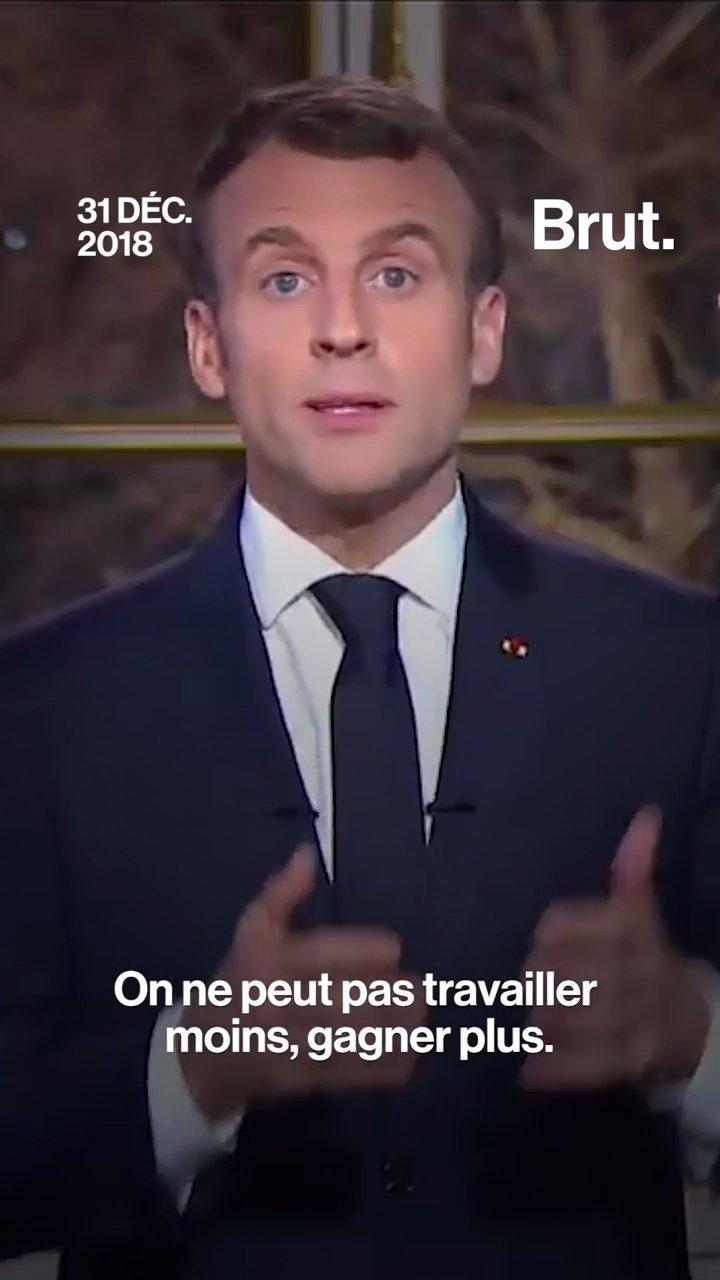4 choses que l'intelligence artificielle dit des discours d'Emmanuel Macron | Brut.