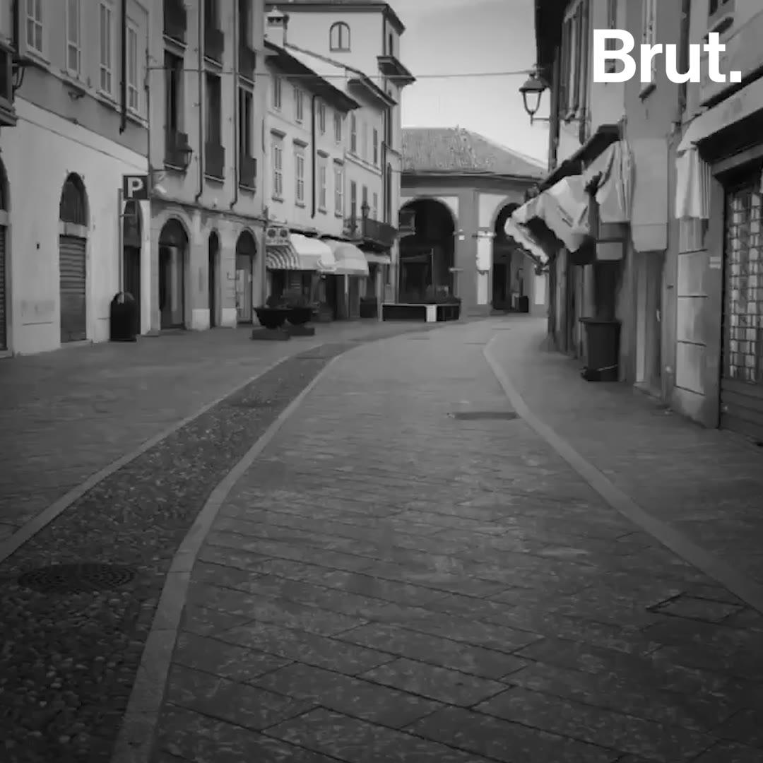 Coronavirus : à quoi ressemble la vie dans une ville confinée? | Brut.