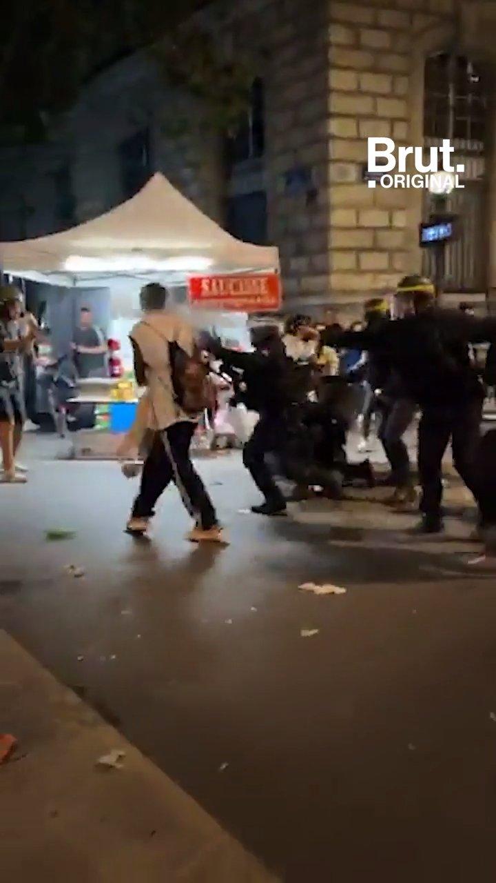 Fête de la musique : quand la police coupe le son à Paris   Brut.