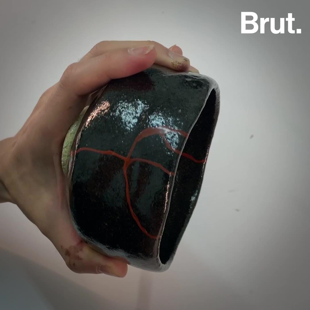 Le kintsugi, l'art de la réparation à la japonaise | Brut.