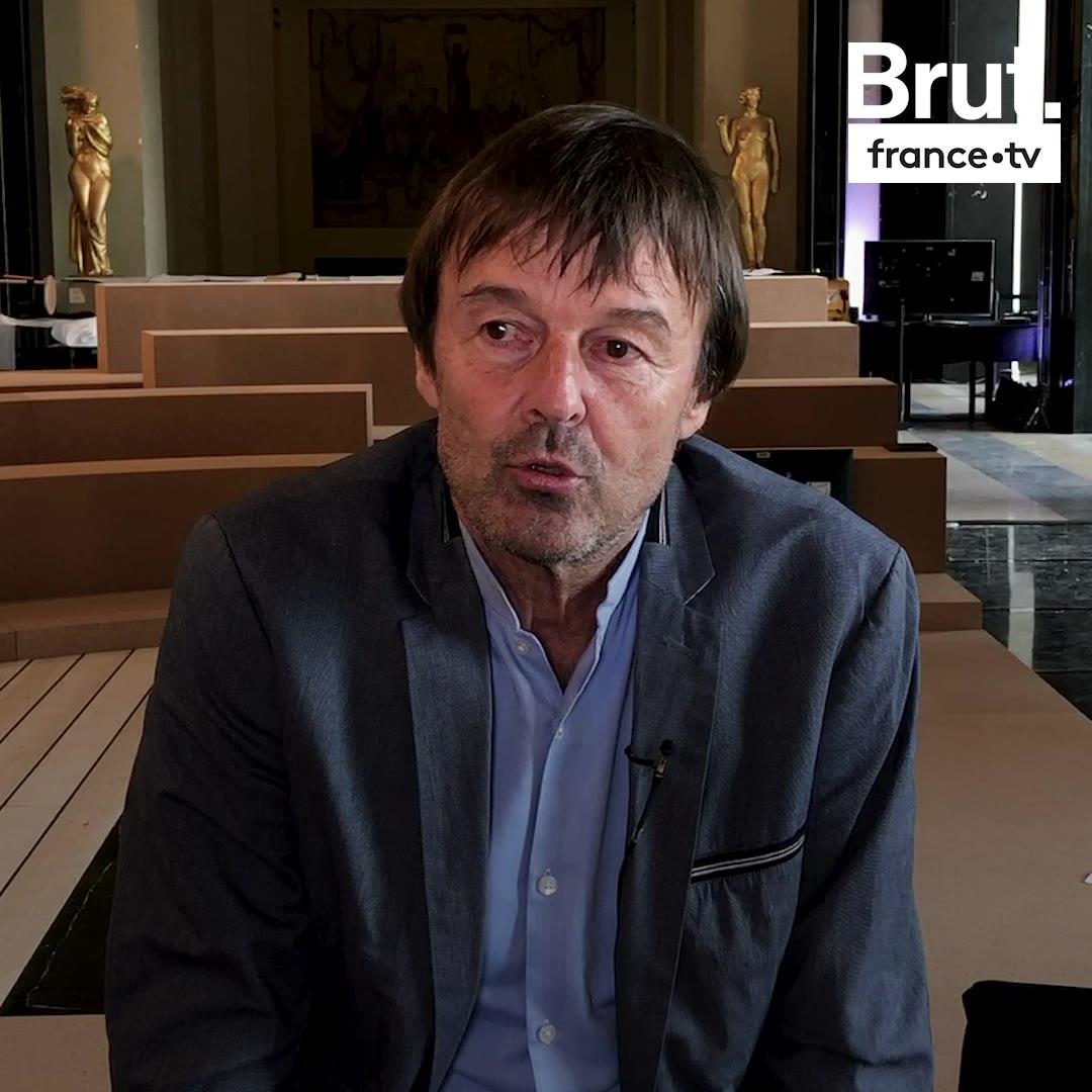 Nicolas Hulot appelle à une mobilisation pour le climat