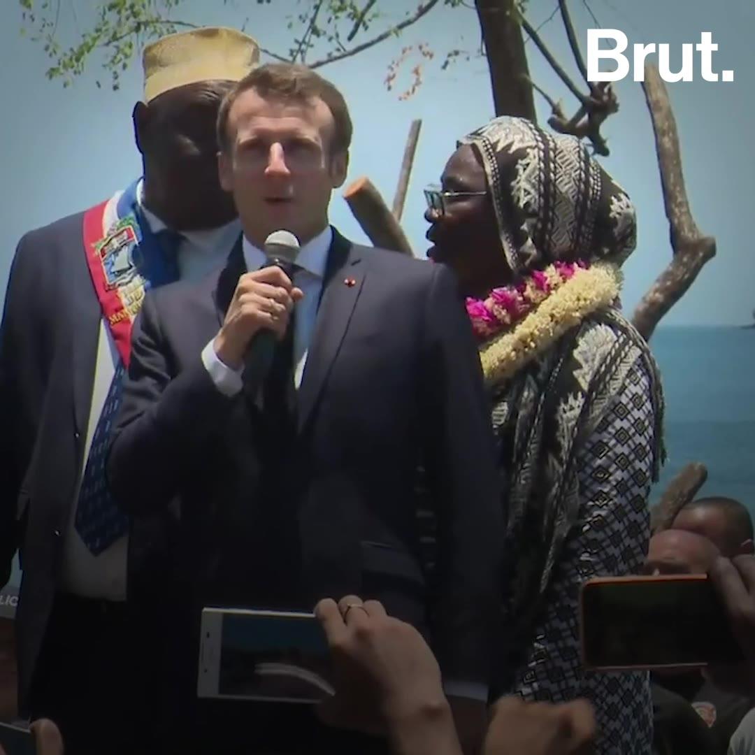 Que retenir des 24 heures d'Emmanuel Macron à Mayotte?