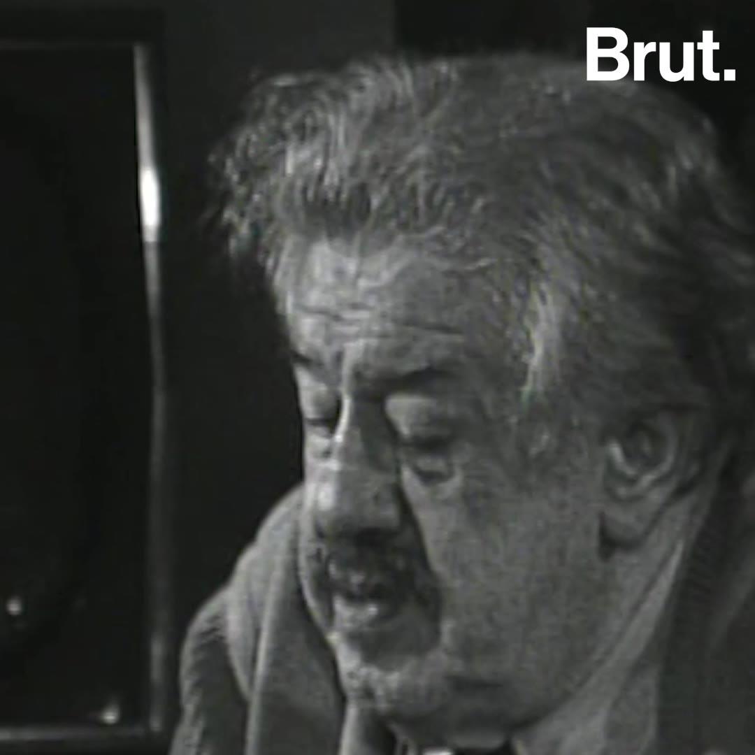 TBT : l'acteur Michel Simon évoque la 6ème extinction de masse | Brut.