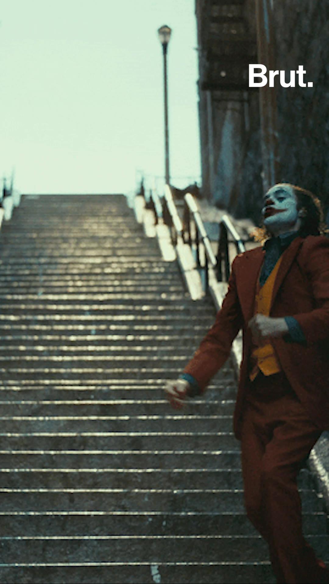 Tourists Flock To Joker Stairs Brut