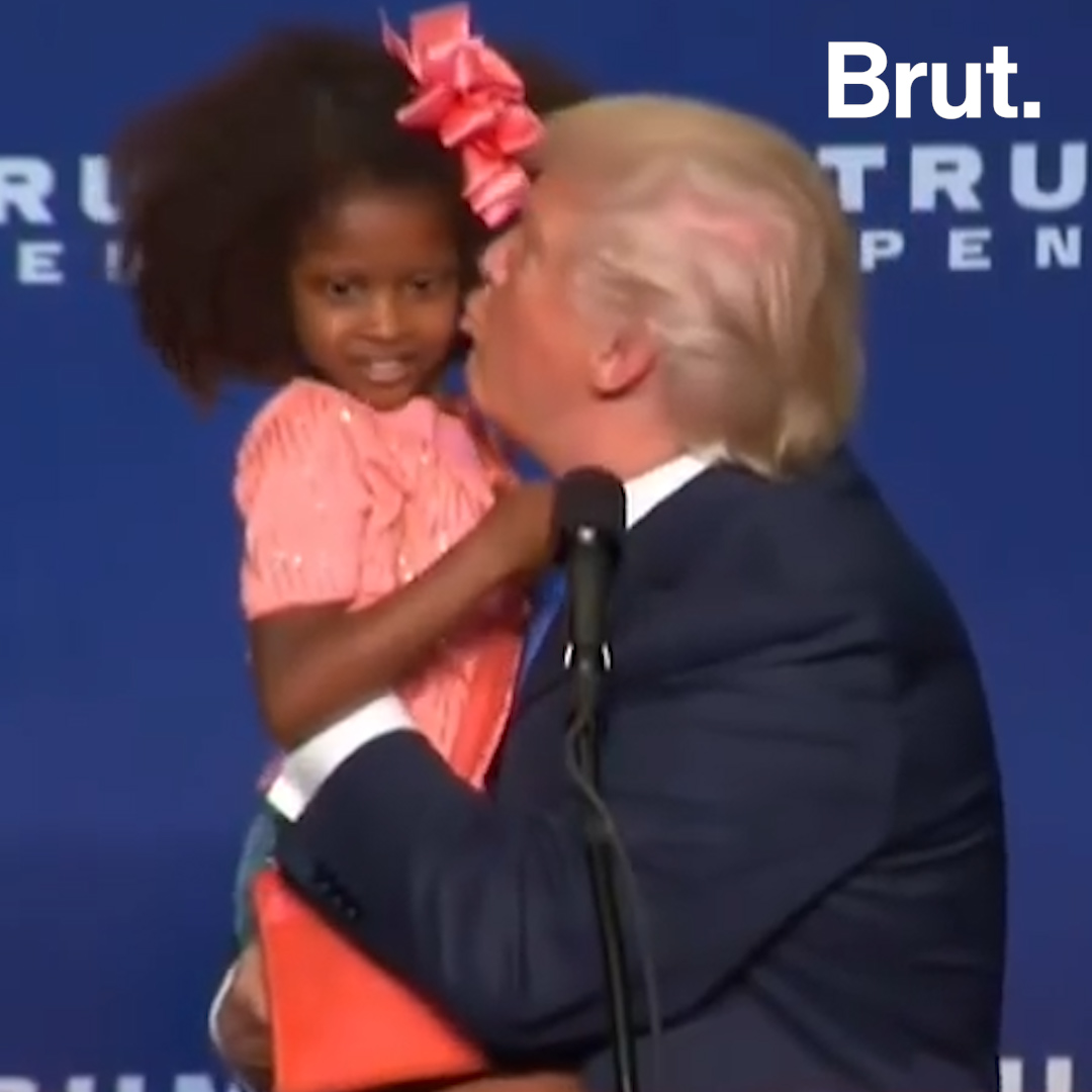 Trump S Awkward Moments With Kids Brut