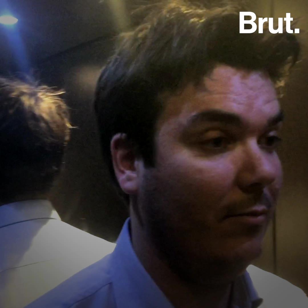 Un sociologue explique pourquoi l'ascenseur entraîne le malaise | Brut.