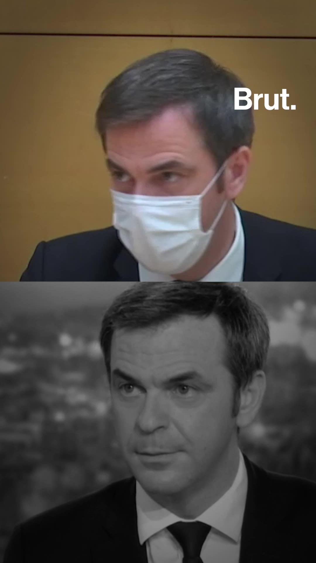 Vaccination : Olivier Véran VS Olivier Véran | Brut.