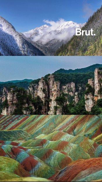 3 paisajes increíbles en China