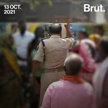 A Slap Outside The Police Station