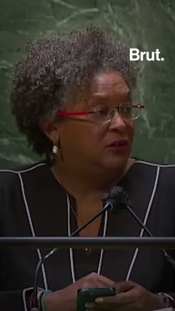 Barbados PM calls on world leaders to act on COVID and climate