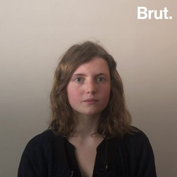 "Brut met young people involved in the ""Youth for Climate"" movement"