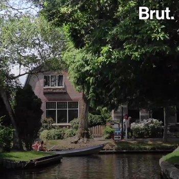 Ce village des Pays-Bas ne comporte aucune route