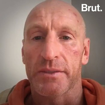 Gareth Thomas was attacked for being gay
