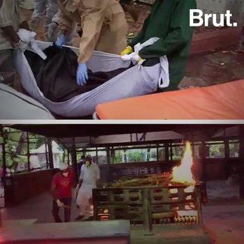 Hindu Cremations At Mumbai's Muslim Qabristan