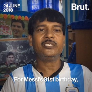 Indian fans are rooting for Lionel Messi