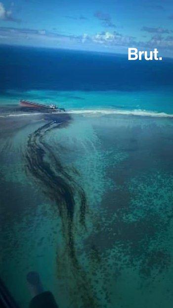 Isla Mauricio declara el Estado de Emergencia Ambiental
