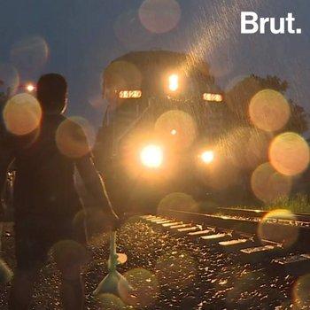 """La """"Bestia""""; train de la mort des migrants au Mexique"""