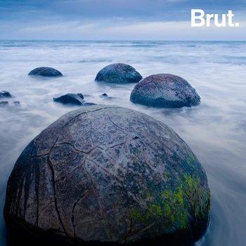 Las extrañas rocas esféricas de Moeraki