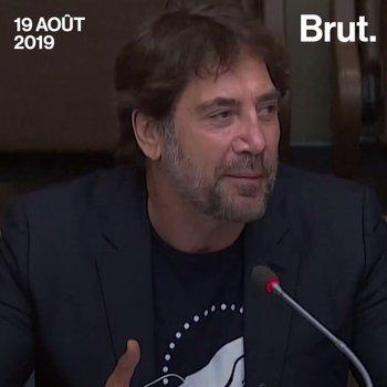 Le discours de l'acteur Javier Bardem à l'ONU