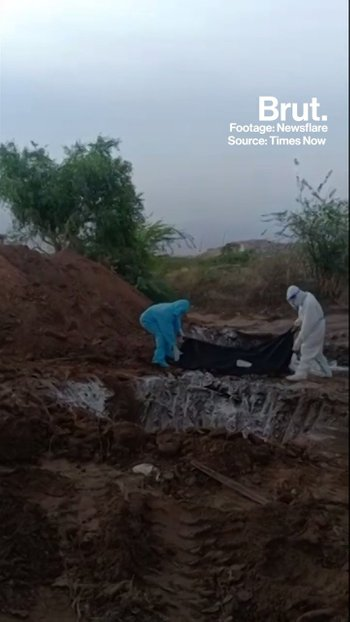 Mass Covid Burial Sparks Outrage