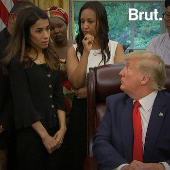 Nobel Prize Winner Nadia Murad Meets Trump
