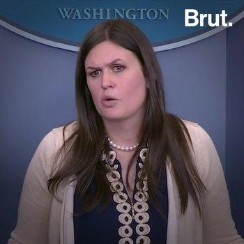 Sarah Sanders Caught in Lie by Mueller Report