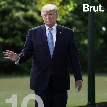 Top 10 des tweets les plus WTF de Donald Trump