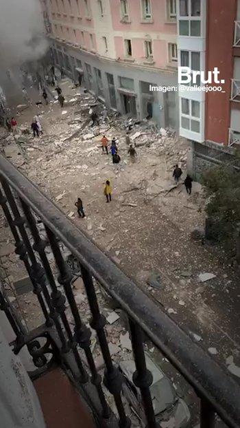 Una explosión en un edificio de Madrid deja varios muertos