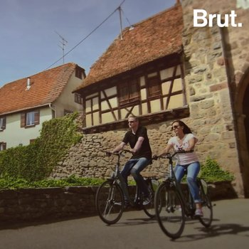 Une véloroute au cœur des vignes d'Alsace