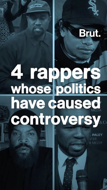 When rappers' politics draw controversy
