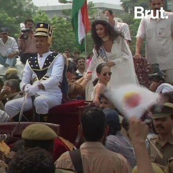 When Sushmita Sen Became Miss Universe