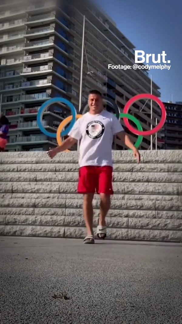A day in the Olympic village