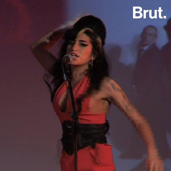 Amy Winehouse from beyond the grave