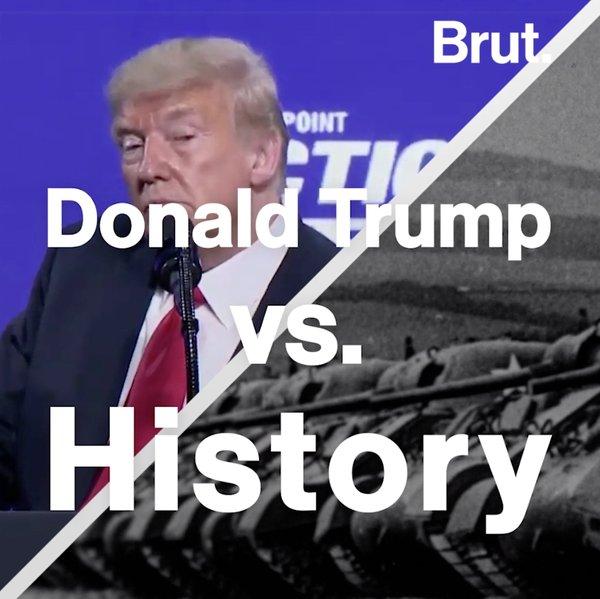 Donald Trump vs. World history
