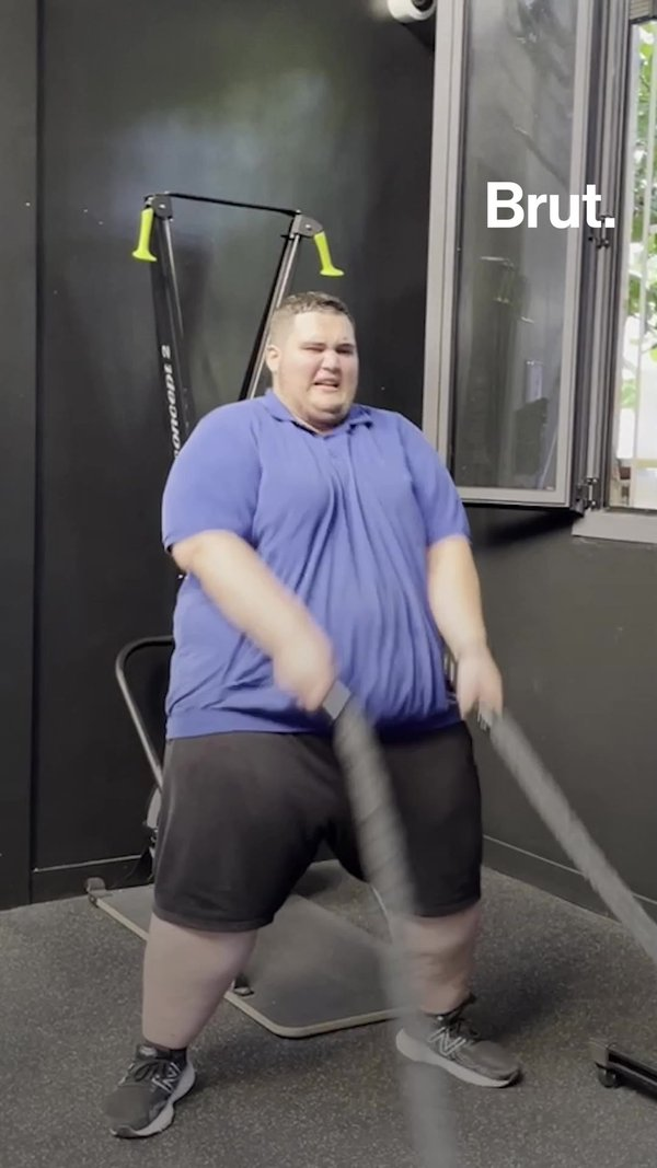 He Wants To Lose 150 kg In A Year