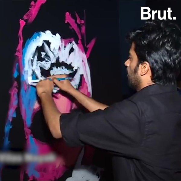 Relativ Mangaluru Man Is Asia's Fastest Speed Painter | Brut. SN15