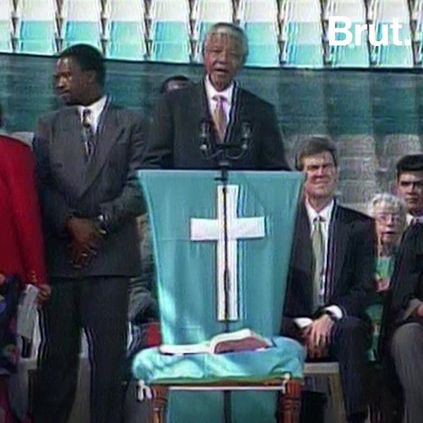 Une vie : Nelson Mandela